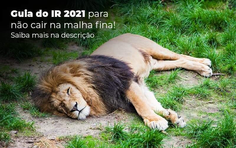 Guia Ir 2021 Para Nao Cair Na Malha Fina Saiba Mais Na Descricao Post 1 - Organização Contábil Lawini