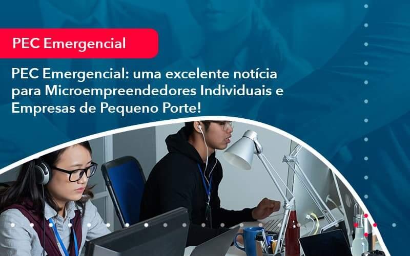 Pec Emergencial Uma Excelente Noticia Para Microempreendedores Individuais E Empresas De Pequeno Porte 1 - Organização Contábil Lawini